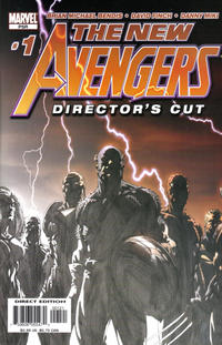 Cover Thumbnail for New Avengers Director's Cut (Marvel, 2004 series) #1