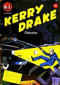 Cover Thumbnail for Kerry Drake (Magazine Enterprises, 1945 series) #[1] [A-1 #1]