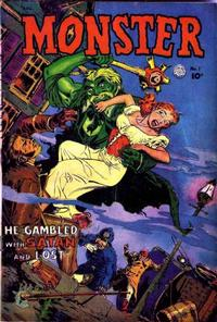 Cover Thumbnail for Monster (Fiction House, 1953 series) #1