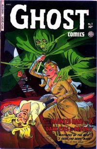 Cover Thumbnail for Ghost Comics (Fiction House, 1951 series) #3