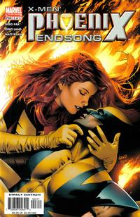 Cover for X-Men: Phoenix - Endsong (Marvel, 2005 series) #3 [Second Printing/Limited Edition]