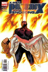 Cover Thumbnail for X-Men: Phoenix - Endsong (Marvel, 2005 series) #4