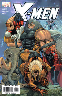 Cover Thumbnail for X-Men (Marvel, 2004 series) #162 [Direct Edition]
