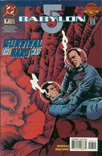 Cover for Babylon 5 (DC, 1995 series) #7 [Direct Sales]