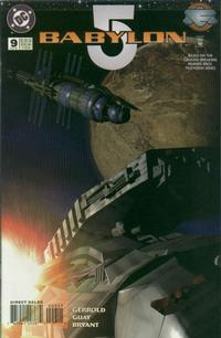 Cover Thumbnail for Babylon 5 (DC, 1995 series) #9 [Direct Sales]