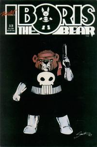 Cover Thumbnail for Boris the Bear (Nicotat Comics, 1987 series) #13