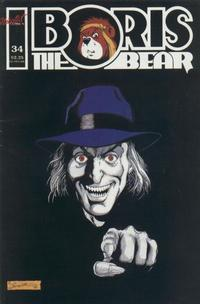 Cover Thumbnail for Boris the Bear (Nicotat Comics, 1987 series) #34