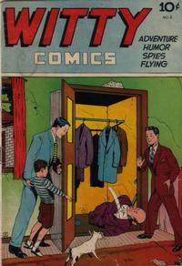 Cover Thumbnail for Witty Comics (Chicago Nite Life News, 1945 series) #2
