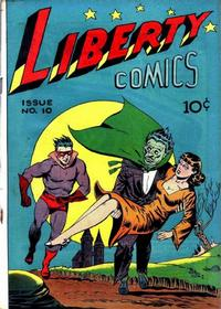 Cover Thumbnail for Liberty Comics (Green Publishing, 1945 series) #10