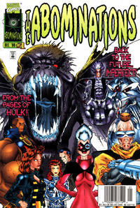 Cover Thumbnail for Abominations (Marvel, 1996 series) #1 [Newsstand]