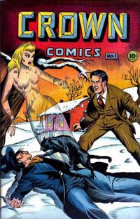 Cover Thumbnail for Crown Comics (McCombs, 1945 series) #1