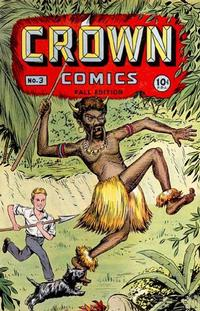 Cover Thumbnail for Crown Comics (McCombs, 1945 series) #3