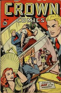 Cover Thumbnail for Crown Comics (McCombs, 1945 series) #4