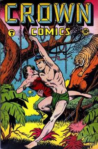 Cover Thumbnail for Crown Comics (McCombs, 1945 series) #5