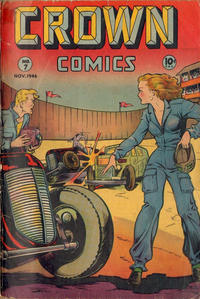 Cover Thumbnail for Crown Comics (McCombs, 1945 series) #7