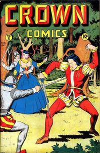 Cover Thumbnail for Crown Comics (McCombs, 1945 series) #8