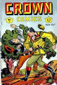 Cover Thumbnail for Crown Comics (McCombs, 1945 series) #11
