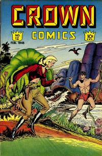 Cover Thumbnail for Crown Comics (McCombs, 1945 series) #12