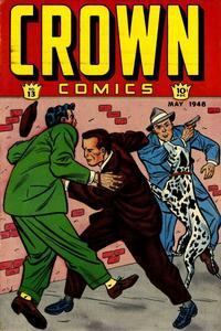 Cover Thumbnail for Crown Comics (McCombs, 1945 series) #13