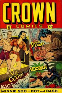 Cover Thumbnail for Crown Comics (McCombs, 1945 series) #15