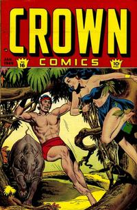 Cover Thumbnail for Crown Comics (McCombs, 1945 series) #16