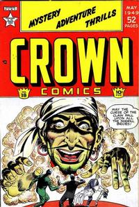 Cover Thumbnail for Crown Comics (McCombs, 1945 series) #18