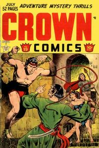 Cover Thumbnail for Crown Comics (McCombs, 1945 series) #19
