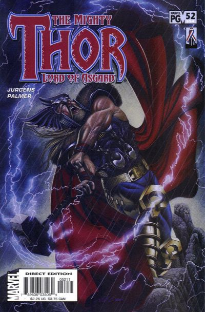 Cover for Thor (Marvel, 1998 series) #52 (554)
