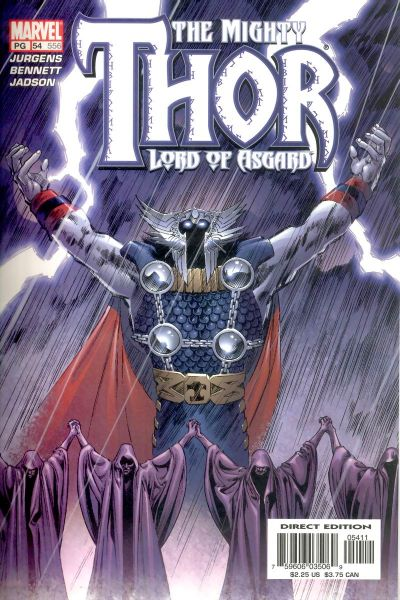 Cover for Thor (Marvel, 1998 series) #54 (556)