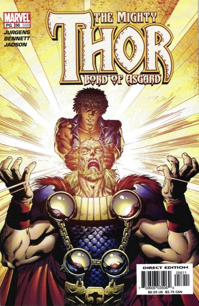 Cover for Thor (Marvel, 1998 series) #56 (558)