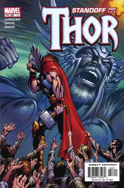 Cover for Thor (Marvel, 1998 series) #58 (560)