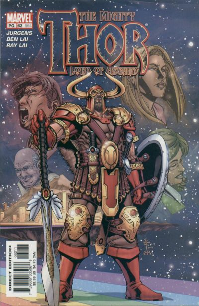 Cover for Thor (Marvel, 1998 series) #62 (564)