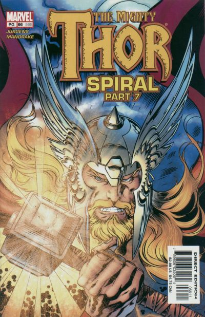 Cover for Thor (Marvel, 1998 series) #66 (568)