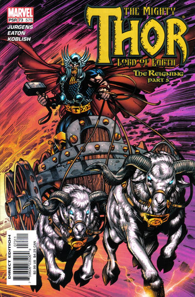 Cover for Thor (Marvel, 1998 series) #73 (575)