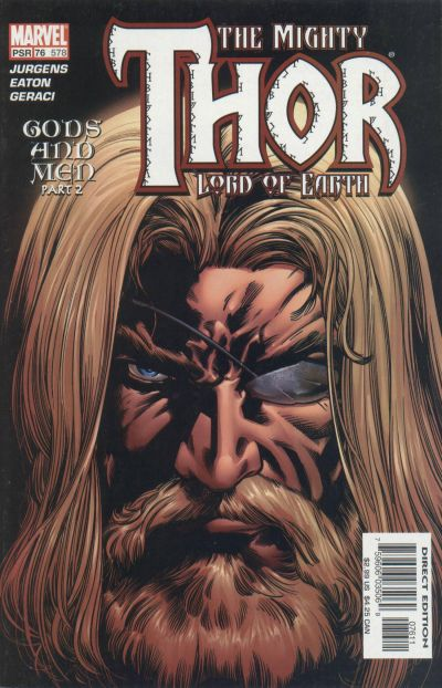 Cover for Thor (Marvel, 1998 series) #76 (578)
