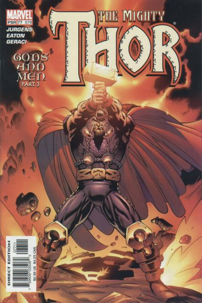 Cover for Thor (Marvel, 1998 series) #77 (579)