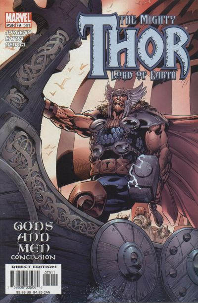 Cover for Thor (Marvel, 1998 series) #79 (581)