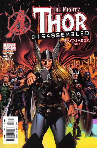 Cover for Thor (Marvel, 1998 series) #82 (584)