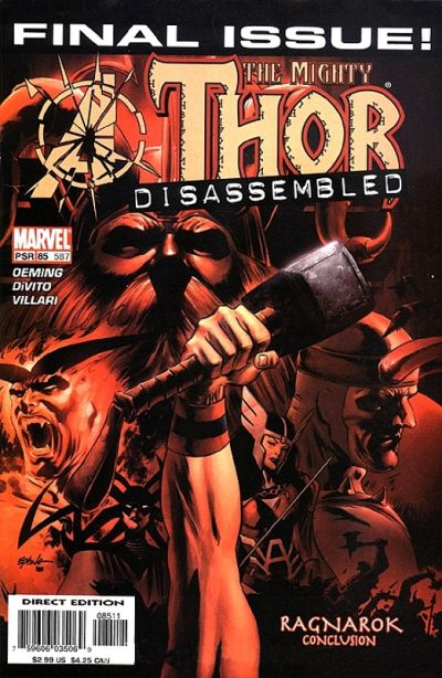 Cover for Thor (Marvel, 1998 series) #85 (587)