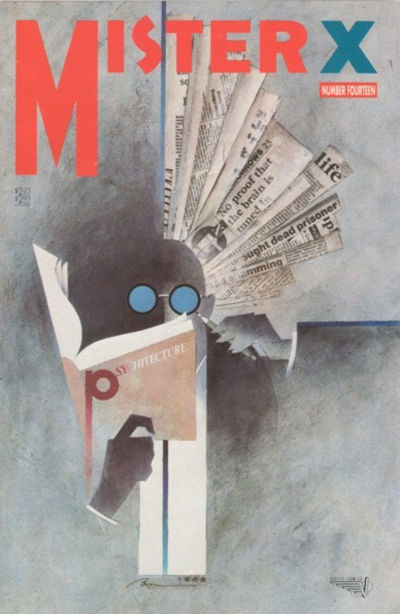 Cover for Mister X (Vortex, 1984 series) #14