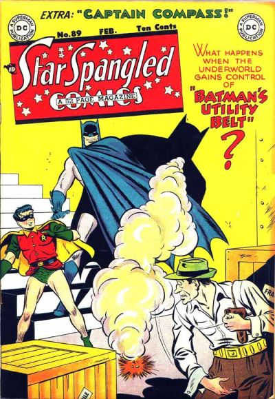 Cover for Star Spangled Comics (DC, 1941 series) #89