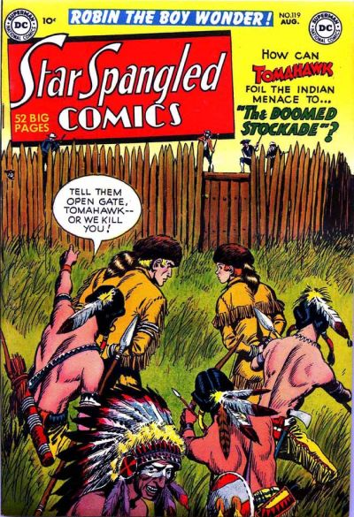 Cover for Star Spangled Comics (DC, 1941 series) #119
