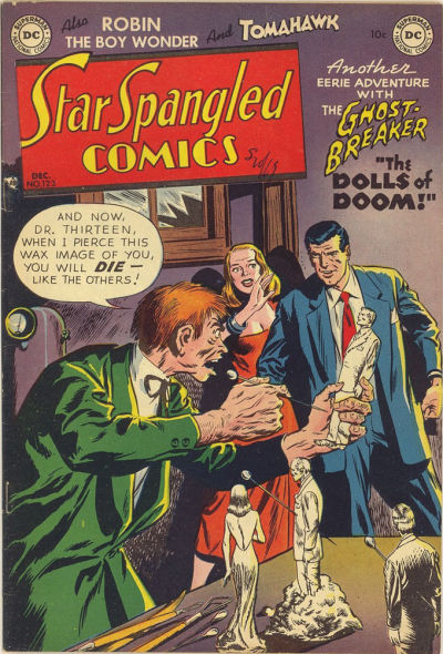 Cover for Star Spangled Comics (DC, 1941 series) #123