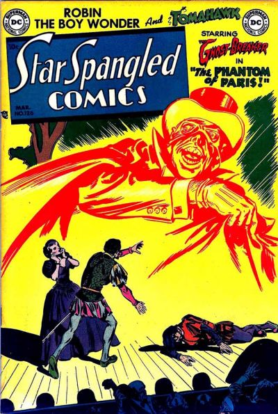Cover for Star Spangled Comics (DC, 1941 series) #126