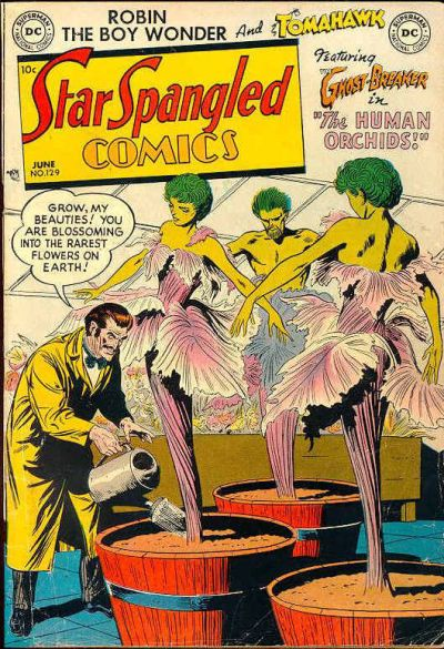 Cover for Star Spangled Comics (DC, 1941 series) #129