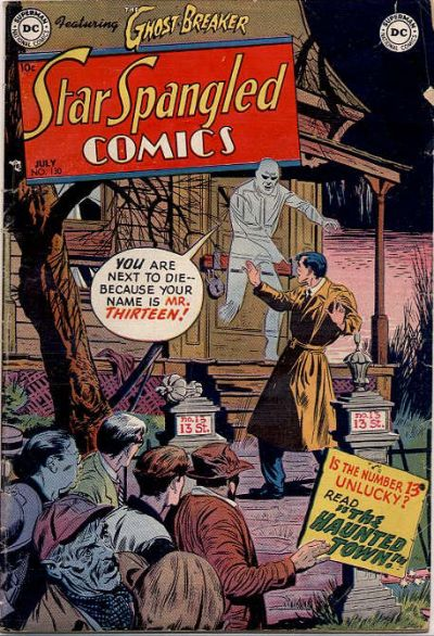 Cover for Star Spangled Comics (DC, 1941 series) #130