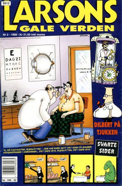 Cover for Larsons gale verden (Bladkompaniet / Schibsted, 1992 series) #2/1999
