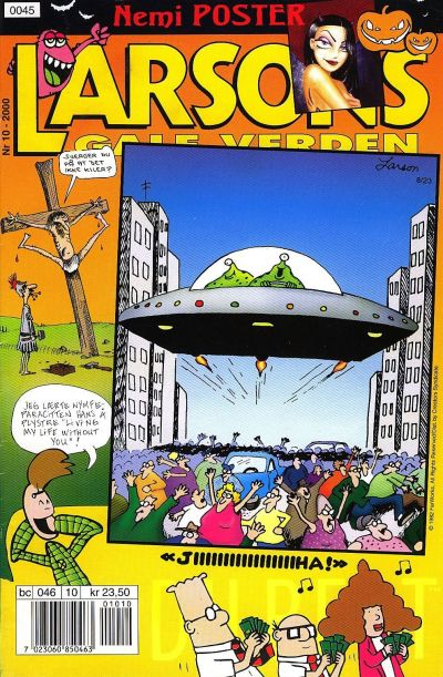 Cover for Larsons gale verden (Bladkompaniet, 1992 series) #10/2000