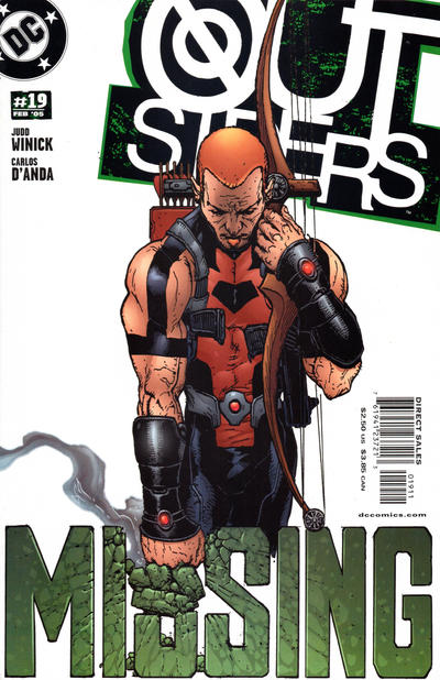 Cover for Outsiders (DC, 2003 series) #19