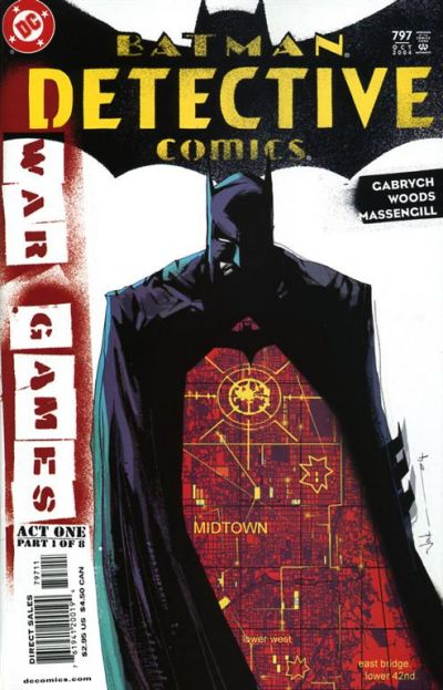 Cover for Detective Comics (DC, 1937 series) #797